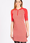 polotta lovin dress, retro dotty, Jerseykleider, Rot