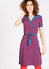 ring my bell cache dress, first kiss, Jerseykleider, Blau