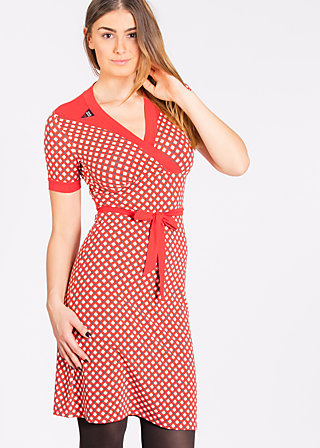 ring my bell cache dress, retro dotty, Kleider, Rot