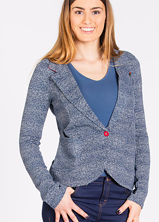 secretary something blazy, jolly jeans, Blazer, Blau