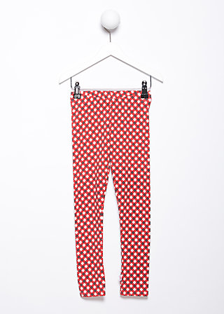 tausendschön legs, retro dotty, Shirts, Rot