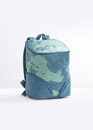 true elegance backpack, travel with me, Reisetaschen, Blau