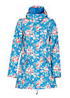wild weather long anorak, classy mate, Softshell, Blau