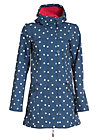 wild weather long anorak, go outside, Softshell, Blau
