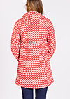 wild weather long anorak, up and down, Softshell, Rot