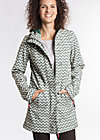 wild weather long anorak, upper class, Softshell, Grau