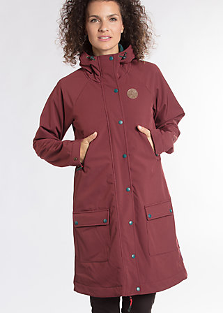 wild weather parka, favorite coat, Softshell, Lila