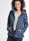 wild weather petit anorak, go outside, Softshell, Blau