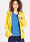 wild weather petit anorak, heart of the friesian, Softshell, Gelb