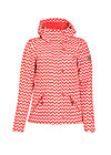 wild weather petit anorak, up and down, Softshell, Rot