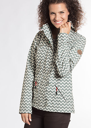wild weather petit anorak, upper class, Softshell, Grau