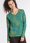wonderful world sweat, travel to europe, Pullover, Grün