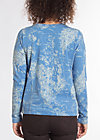 wonderful world sweat, travel to the north, Pullover & leichte Jacken, Blau