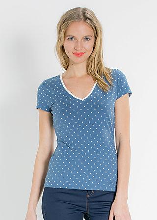 bubi polonaise tee, blue blush, Shirts, Blau