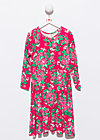 flower power spin around dress, palace garden, Kleider, Rot