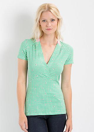 hasch me volanterie shirt, maries picnic, Shirts, Grün