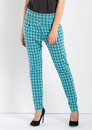 hurluberlu pantalons, mademoiselle major, Hosen, Grün