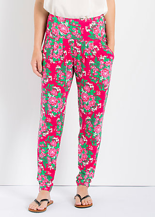lazy n leisure pants, palace garden, Hosen, Rot