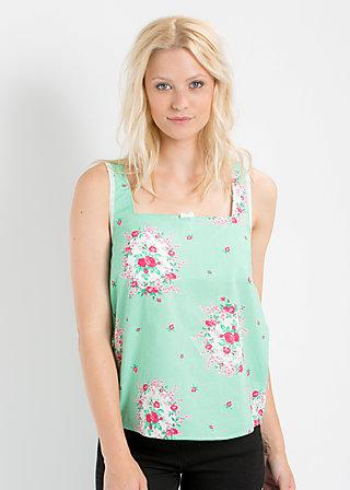 lieb leibchen top, frames of floral, Shirts, Grün