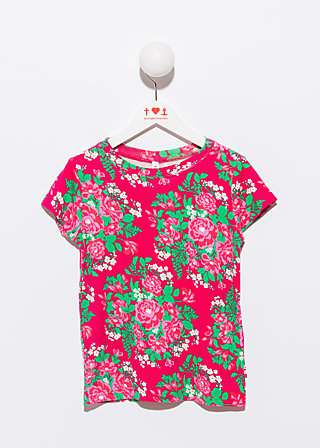 lovely lizzies tee, palace garden, Shirts, Rot