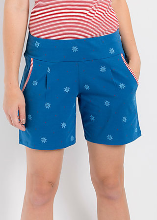 marathon madame short, wheel of fortune, Hose, Blau
