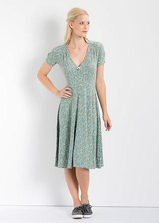oh romance robe, flower field, Kleider, Blau