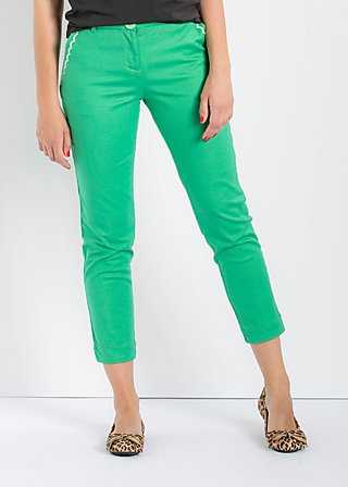 pantalon d'amour, meet me in green, Hosen, Grün