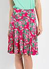 rosenreigen skirt, palace garden, Jerseyröcke, Rot