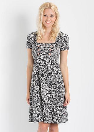 seesternschnuppe dress, mademoiselle noir, Kleider, Schwarz