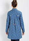 sommerbrise coat, swarm of swallow, Jacken & Mäntel, Blau