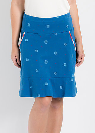 very me volanterie skirt, wheel of fortune, Röcke, Blau
