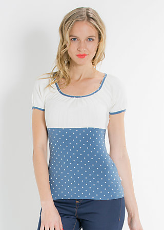 waschtisch romance top, blue blush, Shirts, Blau