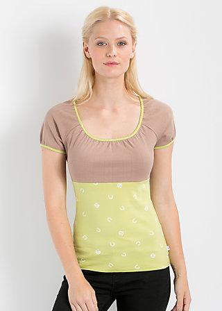 waschtisch romance top, heritage horseshoe, Shirts, Grün