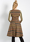 rick rack rattle dress, corny carpet, Kleider, Grün