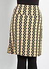 slender tendril skirt, plentiful harvest, Röcke, Grün