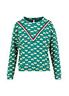 caravan club sweat, friendship power, Pullover & leichte Jacken, Grün