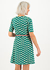 Mini Dress caravan of love, friendship power, Dresses, Green