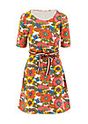 caravan of love dress, shower flower, Kleider, Weiß