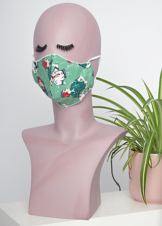 community mask, girl scout, Accessoires, Green