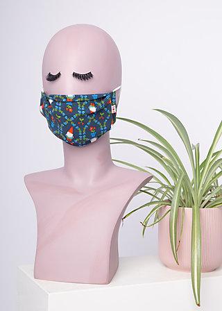 community mask (2pcs), simply blue, Accessoires, Blau