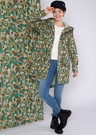 Between Seasons Parka darling scout, veggieflage, Jackets & Coats, Brown