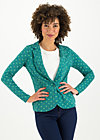 digital detox jacket, lucky clover, Jumpers & lightweight Jackets, Green