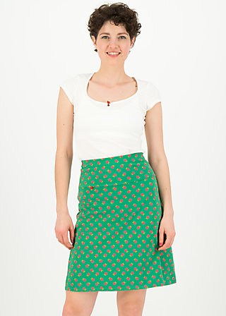 frischluftjunkie jupe, apple picking, Röcke, Grün