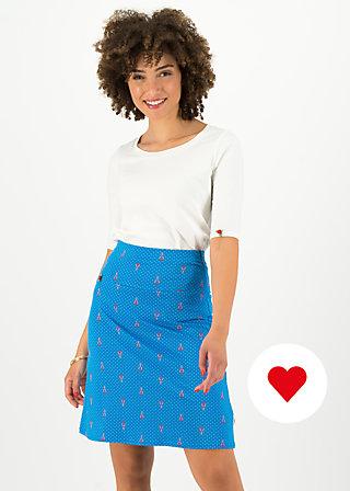 frischluftjunkie jupe, blue tippi dots, Skirts, Blue