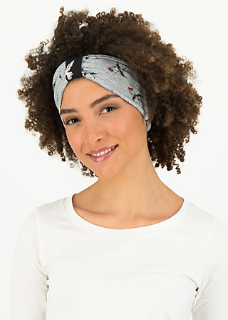 happy hair wrap, carrie the cherries, Accessoires, Grey