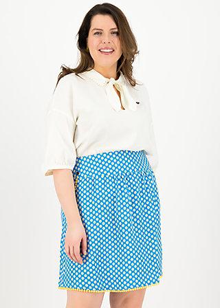 he loves me skirt , blueday daisy, Röcke, Blau