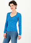 it's a sin shirt, blue tippi dots, Shirts, Blau