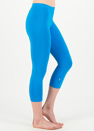 logo 3/4 leggings, simply blue, Leggings, Blue