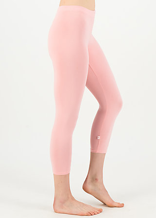 logo 3/4 leggings, simply peach, Leggings, Rosa
