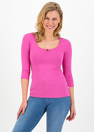 logo 3/4 sleeve shirt, simply pink, Shirts, Rosa